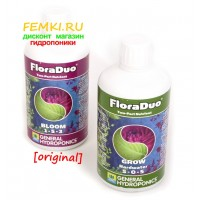 GHE Flora Duo ORIGINAL 500 мл комплект