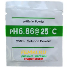 Купить концентрат калибровочного раствора для PH метра 6,86 - Femki.ru