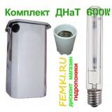 Комплект ДНаТ 600 с лампой ДНаТ + независ. ПРА ДНаТ